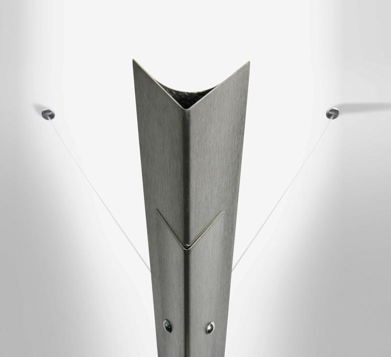 Torchere gilles derain lumen center italia torc102l luminaire lighting design signed 23152 product