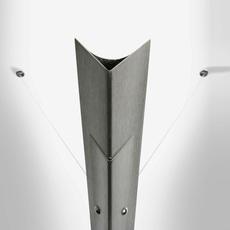 Torchere gilles derain lumen center italia torc102l luminaire lighting design signed 23152 thumb