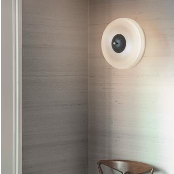 Applique murale trave laiton marbre guatemala o30cm h12cm bert frank normal