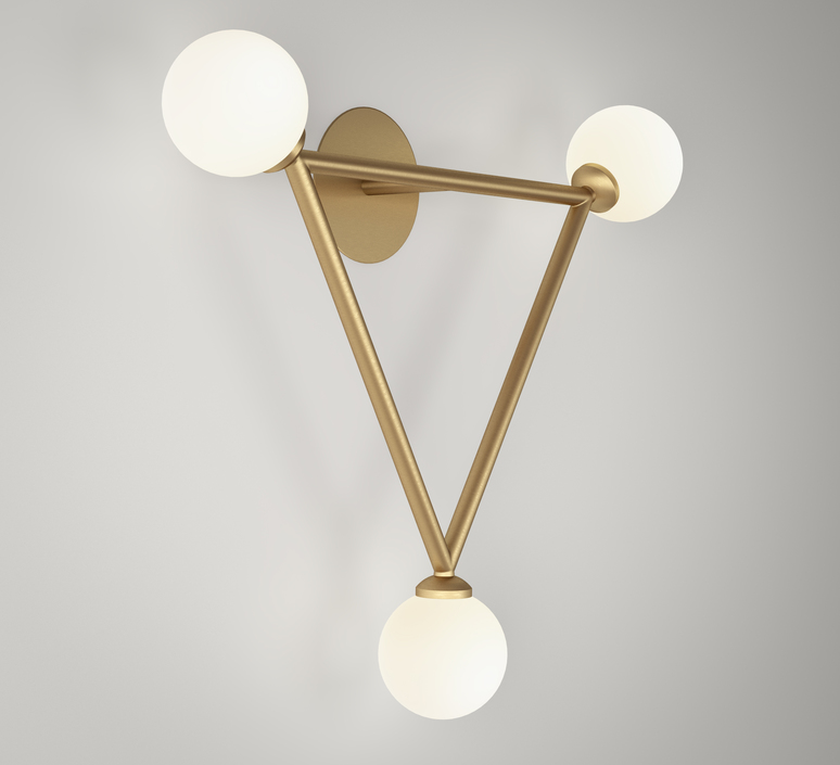 Row  applique murale wall light  atelier areti row laiton  design signed 56532 product