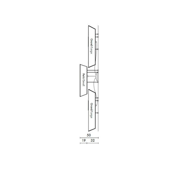 Trio grand nenuphar led kristian gavoille designheure a2g1pnledmro luminaire lighting design signed 23935 product
