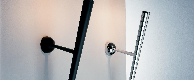 Applique murale trylon noir h76cm lumen center italia normal