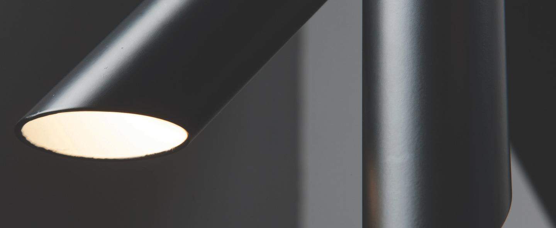 Applique murale tubes 2 triac noir l20cm h23cm nemo lighting normal