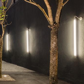 Applique murale tubo 50 on off low output givre led 2700k 4200lm l175 2cm h5cm o m light normal