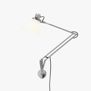 Applique murale type 1228 blanc led o17cm h34 6cm anglepoise normal