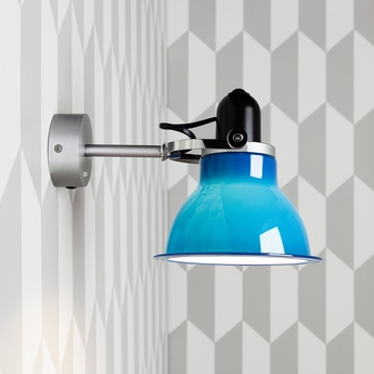 Applique murale type 1228 bleu marine h18cm anglepoise normal