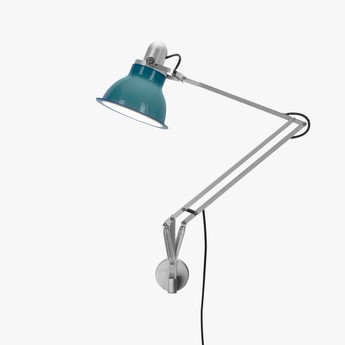 Applique murale type 1228 bleu ocean led o17cm h34 6cm anglepoise normal