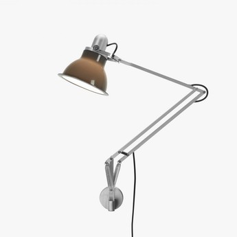 Applique murale type 1228 gris granite led o17cm h34 6cm anglepoise normal