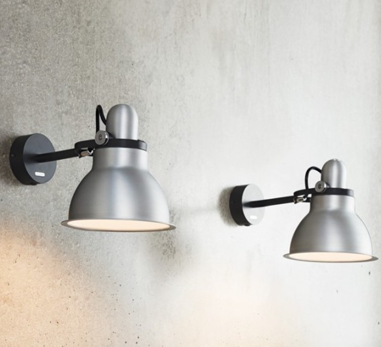 Type 1228 metallic sir kenneth grange applique murale wall light  anglepoise 32265  design signed 40858 product