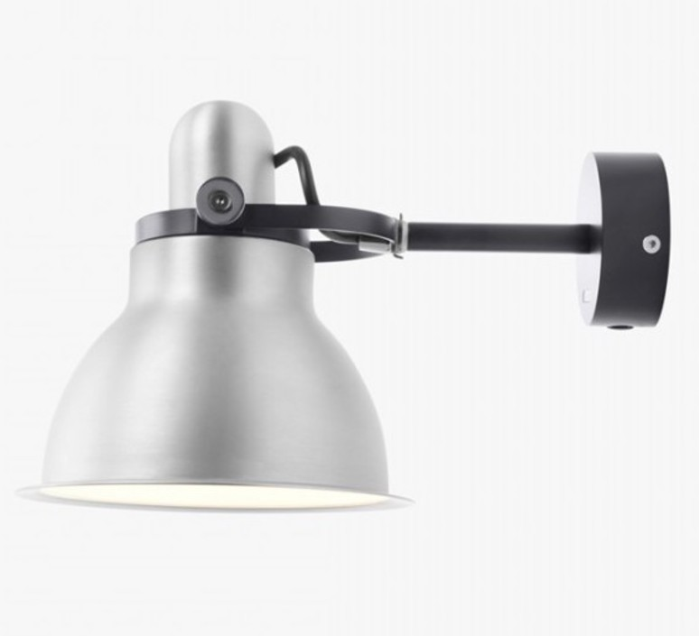 Type 1228 metallic sir kenneth grange applique murale wall light  anglepoise 32265  design signed 40859 product