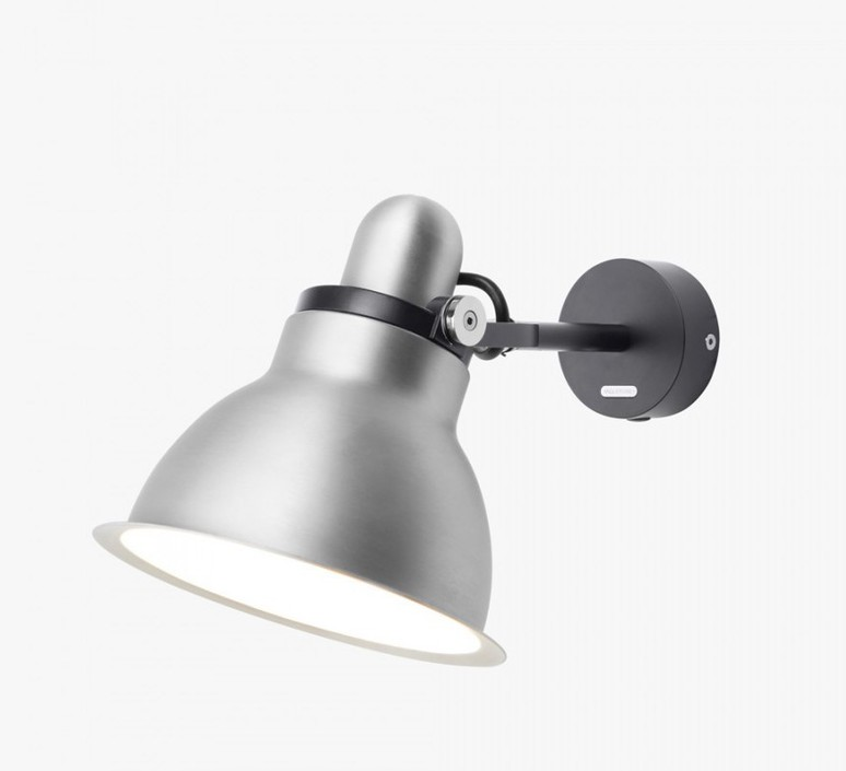 Type 1228 metallic sir kenneth grange applique murale wall light  anglepoise 32265  design signed 40860 product