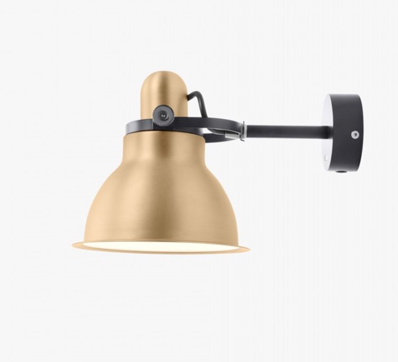 Type 1228 metallic sir kenneth grange applique murale wall light  anglepoise 32263  design signed 40996 product