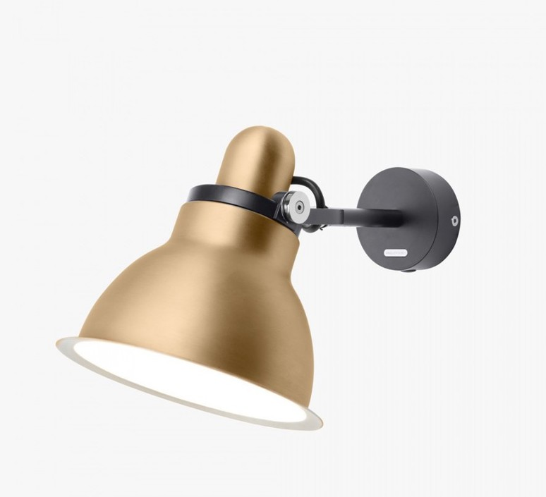 Type 1228 metallic sir kenneth grange applique murale wall light  anglepoise 32263  design signed 40997 product