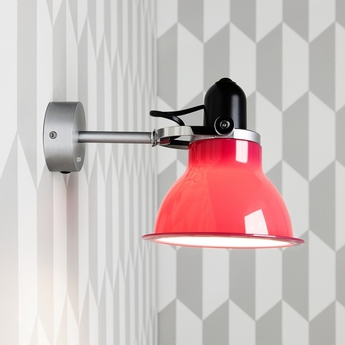 Applique murale type 1228 rouge carmin h18cm anglepoise normal
