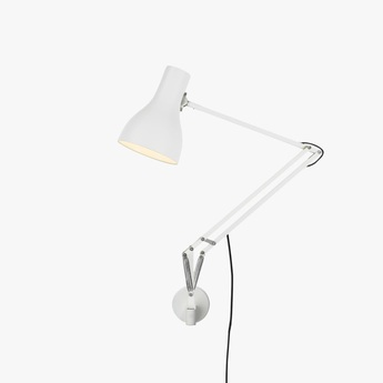 Applique murale type 75 blanc led o14cm anglepoise normal