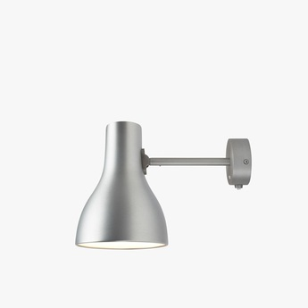 Applique murale type 75 gris interrupteur l14cm h19cm anglepoise normal