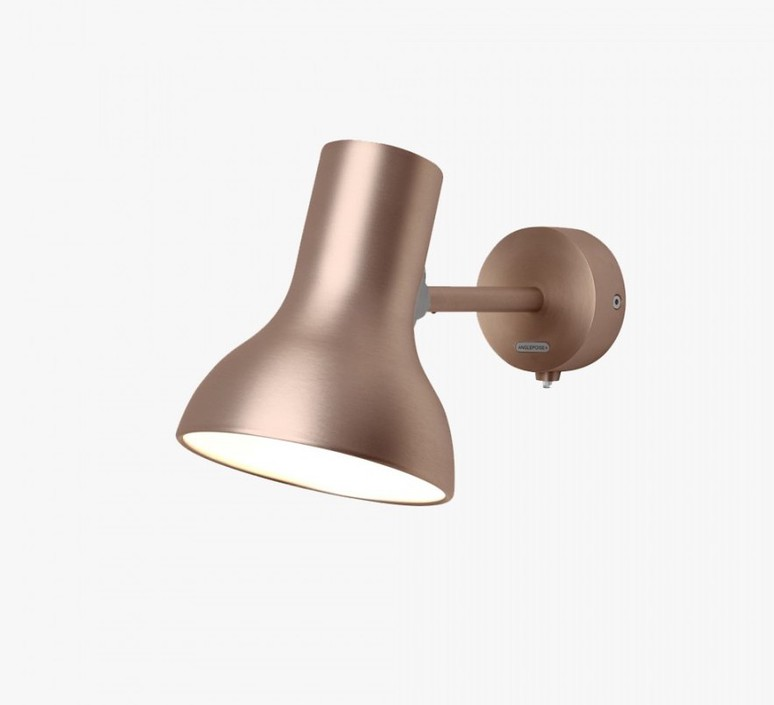Type 75 mini metallic sir kenneth grange applique murale wall light  anglepoise 32271  design signed 41017 product