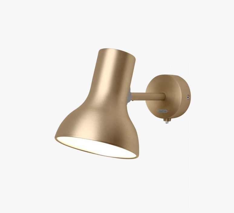 Type 75 mini metallic sir kenneth grange applique murale wall light  anglepoise 32270  design signed 41015 product