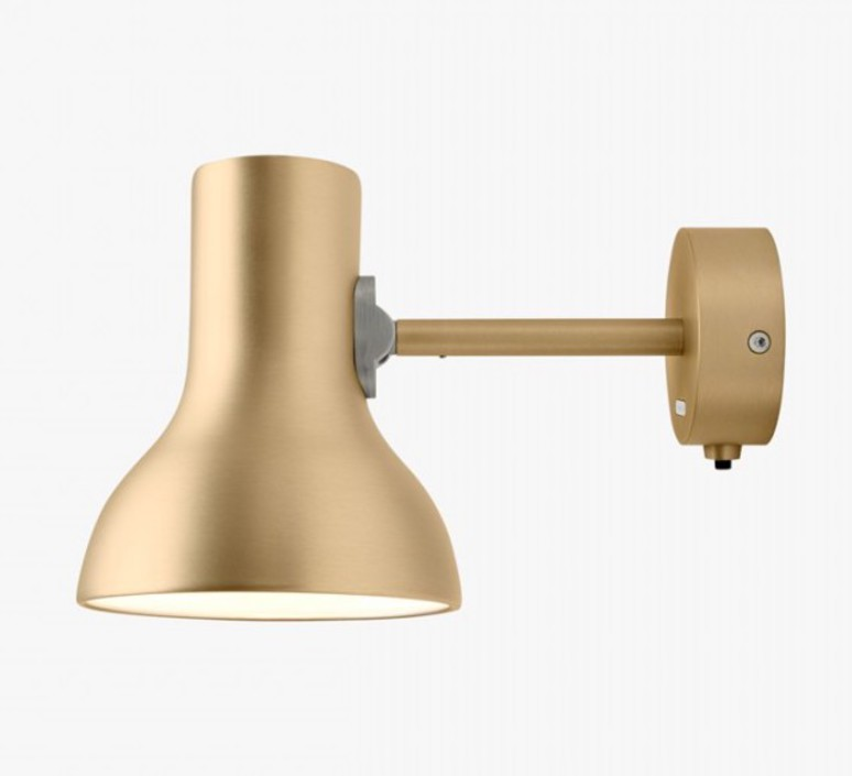 Type 75 mini metallic sir kenneth grange applique murale wall light  anglepoise 32270  design signed 41016 product