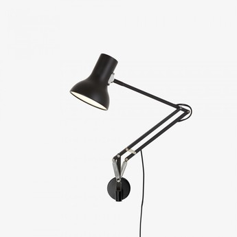 Applique murale type 75 mini noir led o13cm h30cm anglepoise normal