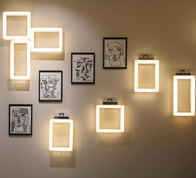 Uffizi 2 massimiliano raggi applique murale wall light  contardi acam 002002  design signed nedgis 87577 product