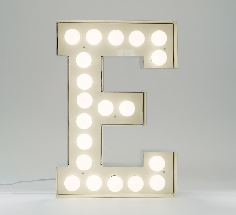 Vegaz lettre e  selab seletti 01408 e luminaire lighting design signed 60982 product