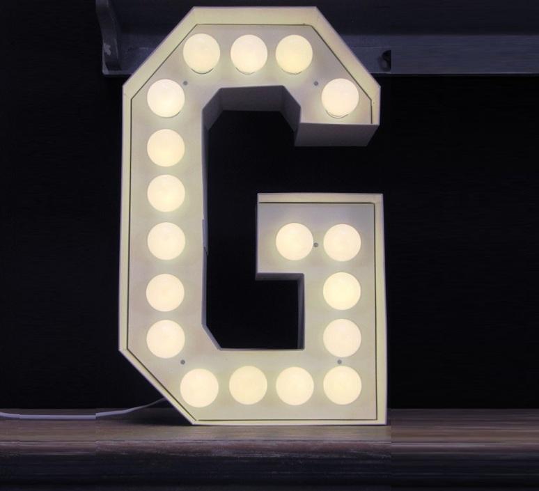 Vegaz lettre g  selab seletti 01408 g luminaire lighting design signed 16357 product