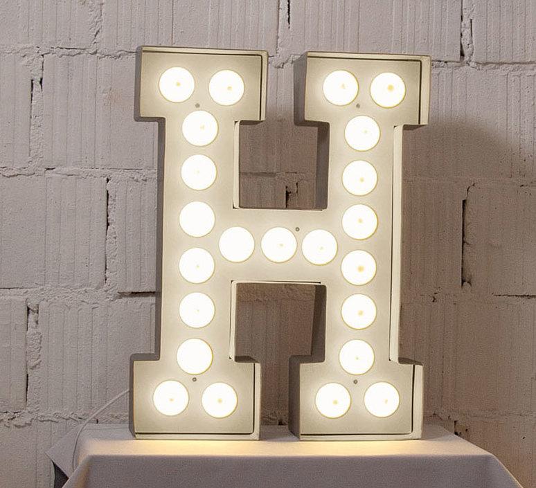 Vegaz lettre h  selab seletti 01408 h luminaire lighting design signed 16361 product