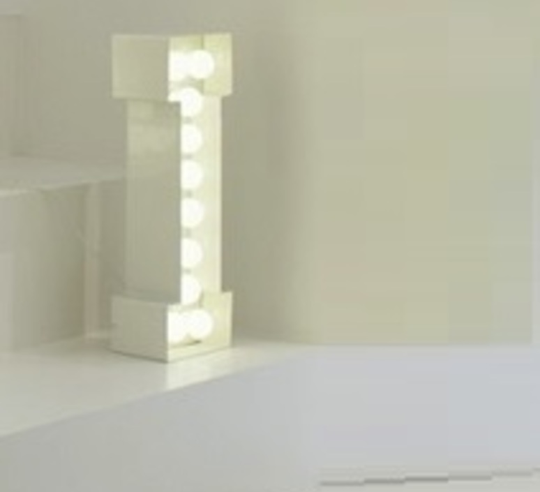 Vegaz lettre i  selab seletti 01408 i luminaire lighting design signed 16369 product