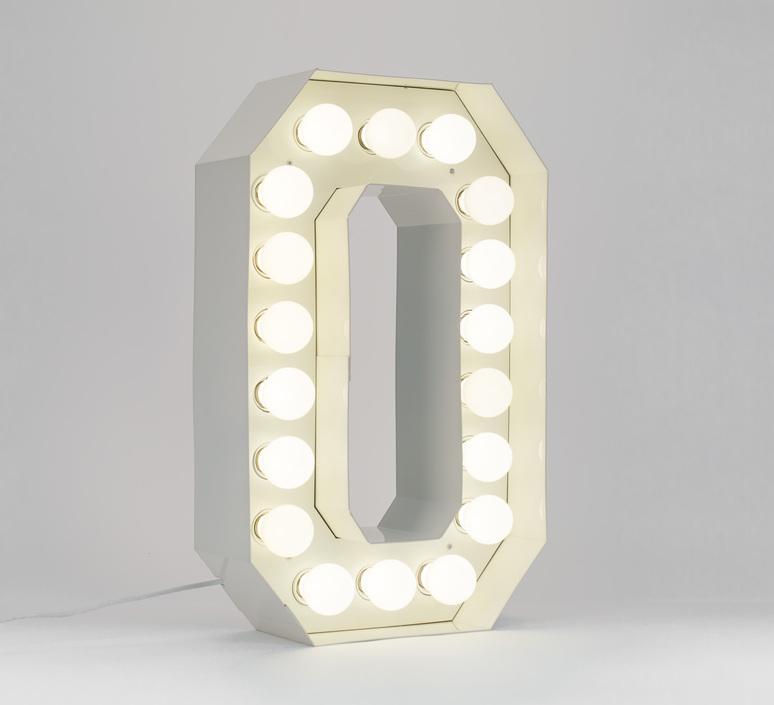 Vegaz lettre o  selab seletti 01408 o luminaire lighting design signed 60984 product