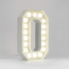 Vegaz lettre o  selab seletti 01408 o luminaire lighting design signed 60984 thumb