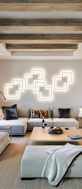 Applique murale venn 1 0 phase cut dim blanc led 3000k 2250lm l72 4cm h9cm wever ducre normal