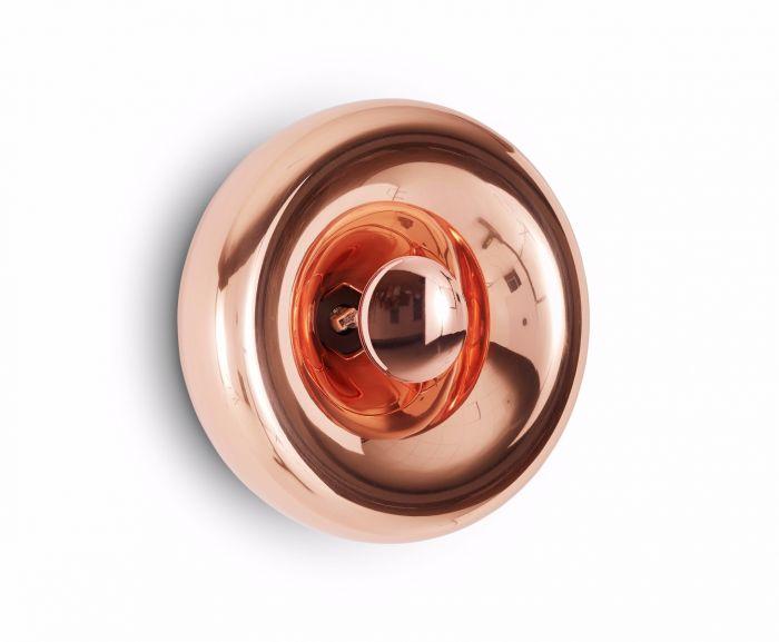 applique murale void cuivre l30cm h30cm tom dixon. Black Bedroom Furniture Sets. Home Design Ideas