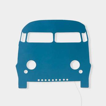Applique murale voiture car lamp bleu led l22 5cm h27cm ferm living normal