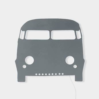 Applique murale voiture car lamp gris led l22 5cm h27cm ferm living normal