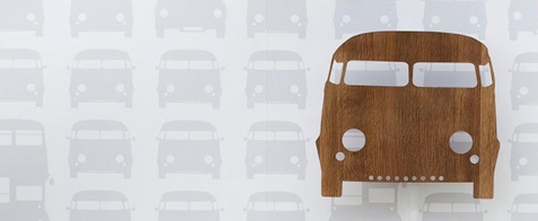 Applique murale voiture car lamp marron led l22 5cm h27cm ferm living normal