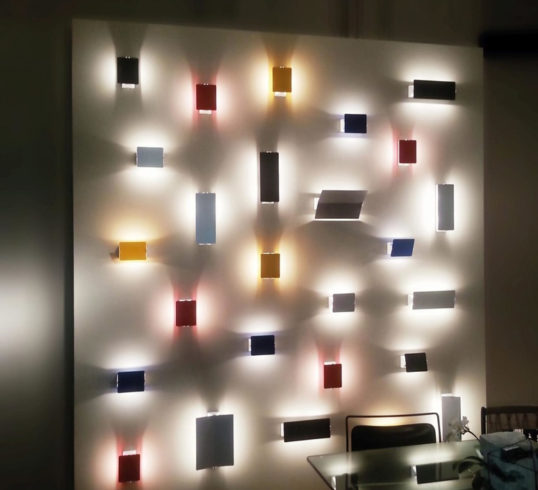 Volet pivotant double charlotte perriand applique murale wall light  nemo lighting avp ewn 33  design signed 81025 product