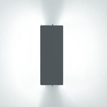 Applique murale volet pivotant double noir l34cm h13cm nemo lighting normal
