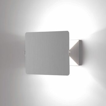 Applique murale volet pivotant simple aluminium l17cm h13cm nemo lighting normal