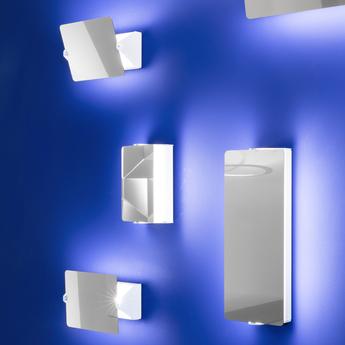 Applique murale volet pivotant simple inox l17cm h13cm nemo lighting normal