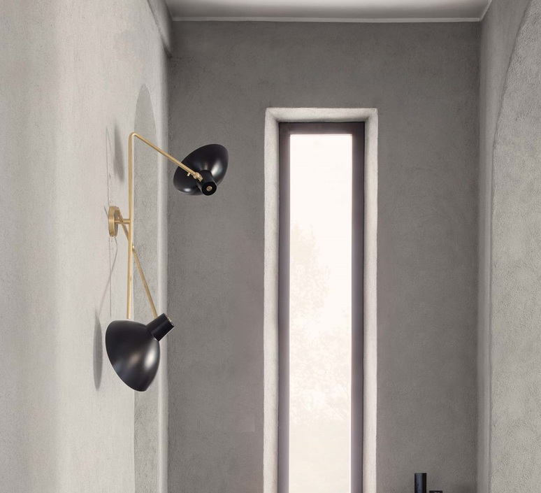 Vv cinquanta vittoriano vigano applique murale wall light  astep t02 w21 11bb  design signed nedgis 78827 product