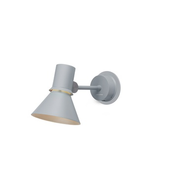 Applique murale wall light type 80 gris clair mat l26 5cm h14 5cm anglepoise normal
