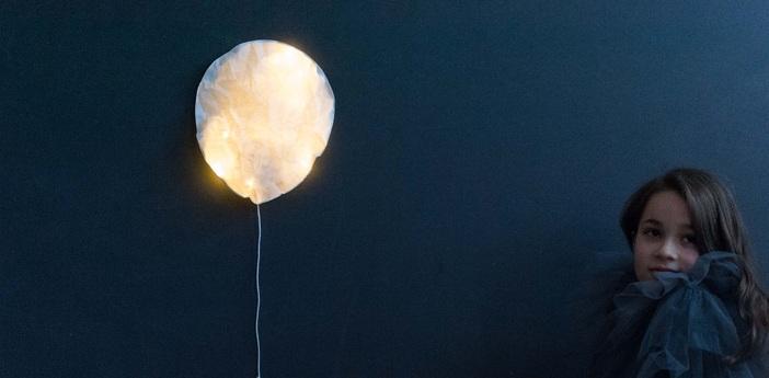 Applique murale white lighting balloon large blanc o27cm h31cm ekaterina galera normal