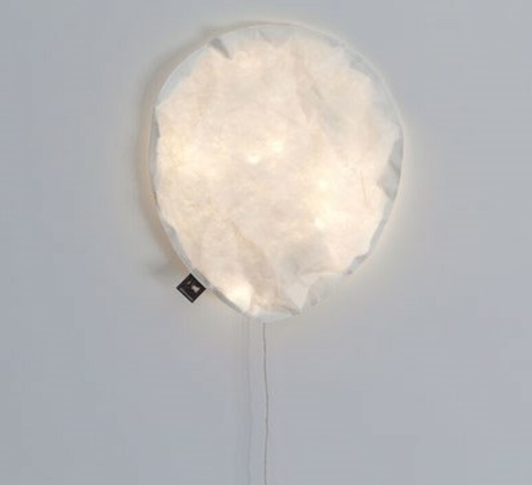 White lighting balloon large ekaterina galera applique murale wall light  ekaterina galera whitelightingballoon l  design signed nedgis 87762 product