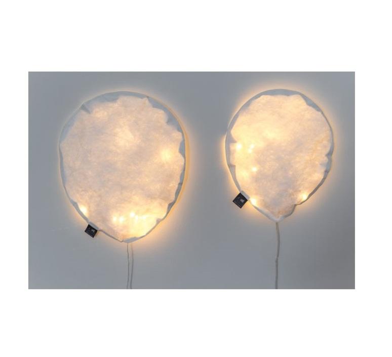 White lighting balloon large ekaterina galera applique murale wall light  ekaterina galera whitelightingballoon l  design signed nedgis 87766 product
