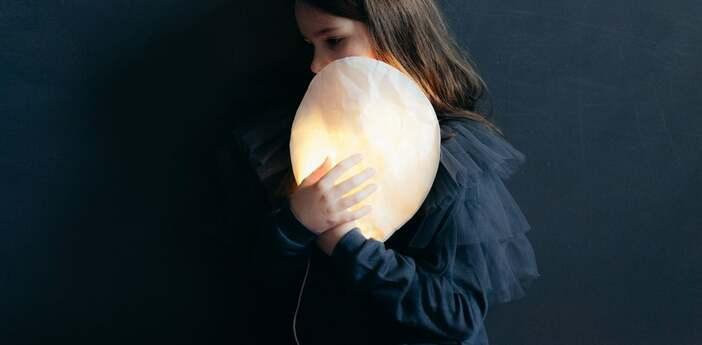 Applique murale white lighting balloon small blanc o22cm h26cm ekaterina galera normal