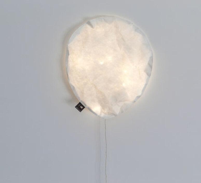 White lighting balloon small ekaterina galera applique murale wall light  ekaterina galera whitelightingballoon s  design signed nedgis 87757 product