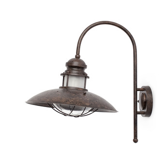 Applique murale winch marron h46cm faro normal