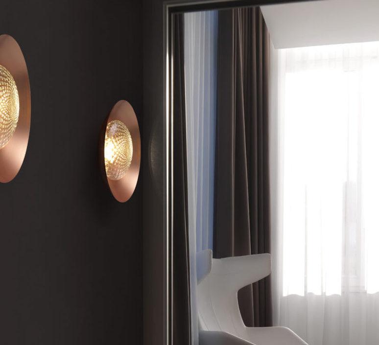 Wok  applique murale wall light  cvl wok  design signed 53583 product