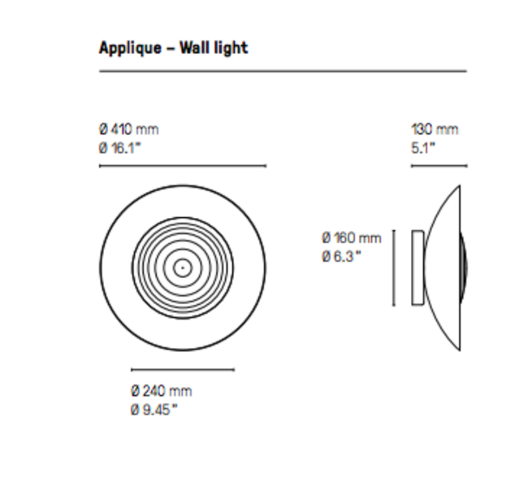 Wok  applique murale wall light  cvl wok  design signed 53584 product